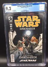 AMAZING STAR WARS DAWN OF JEDI ISSUE 0 DARK HORSE COMIC CGC 9.2 WHITE PAGES 2012