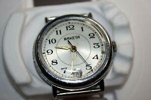 Soviet Vintage Watch Raketa Original USSR