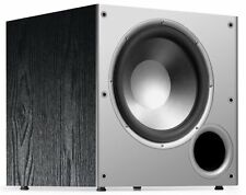 Polk Audio PSW10 10-Inch Powered Subwoofer High Amplifier Big Bass(Single,Black)