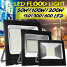 50W/100W/200W LED Floodlight Motion Outdoor Security Flood Wall Light Lamp