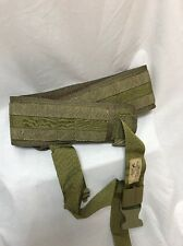 Eagle Industries Military Belt Padded XXLarge Khaki SEALs SFLCS