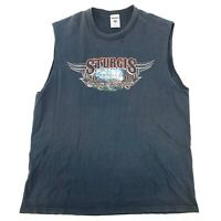 JERZEES Mens Size Large 2009 Sturgis Black Hills Rally T-Shirt