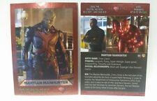SDCC Comic Con 2016 CW DC SUPERGIRL Martian Manhunter Trading Foil promo card