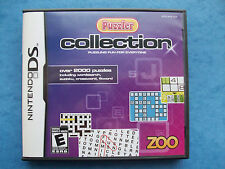 PUZZLER COLLECTION NINTENDO DS 2008 COMPLETE FRENCH & ENGLISH VG ACTUAL PICTURE