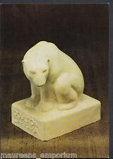 Victoria & Albert Museum Postcard- Glazed Earthenware Figure of Polar Bear RR579