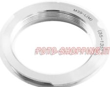 ADATTATORE M39 PER LEICA-M ADAPTER LENS RING ANELLO CAMERA L39 L/M 35-135MM