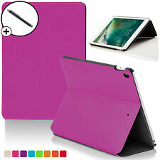 Pink Clam Shell Smart Case Cover Sleeve for Apple iPad 9.7 2017 A1822 Stylus