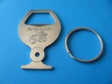 FAT TYRE Amber Ale KEY RING, Bottle Opener, Unused. Bicycle.