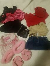 Build A Bear 3 Outfits Diva Dress 11 Pieces Clothing