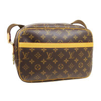 LOUIS VUITTON REPORTER PM MESSENGER SHOULDER BAG RI0126 MONOGRAM M45254 34262