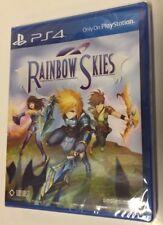 Rainbow Skies (Sony Playstation 4, 2018) PS4 - RPG -Physical Edition Region Free