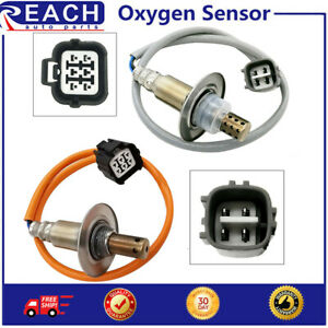 2pcs Up & Downstream Oxygen O2 Sensor For Subaru Forester Impreza Legacy H4 2.5L