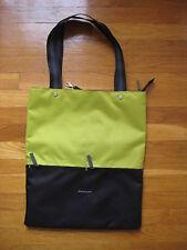 Sherpani 16 Sloan Travel Tote BAG purse Envy lime green black laptop case hand