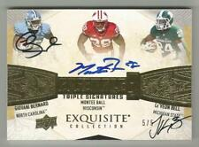 Le'Veon Bell Giovani Bernard 2013 EXQUISITE TRIPLE ROOKIE AUTO CARD /5 SIGNED RC