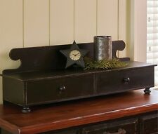 Counter Shelf - Aged Black - Park Designs - Americana - Western - Free Shipping