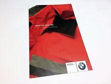 2004 BMW X5 Gear Accessories Brochure