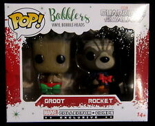 GUARDIANS OF THE GALAXY Groot & Rocket Mini-Bobblers - 2 Pack - Funko Pop!