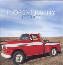★☆★ CD Single Florent PAGNY Je trace Promo 2-Track CARD SLEEVE NEUF SCELLE ★☆★