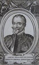 SANCIUS AVILA ARCIS ANTVERPIANAE , Portrait, gravure 17 ème. Dimensions : 80 mm