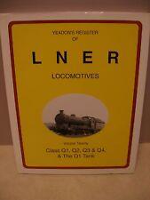 Yeadon's Register of LNER Locomotives