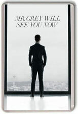 Mr Grey will see you now. Fifty shades Fridge Magnet