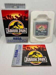 JURASSIC PARK - SEGA Game Gear - PAL EUR - Complet - 100% original !!