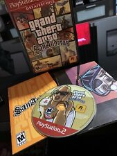 Grand Theft Auto San Andreas GTA -  PlayStation 2 PS2 Game Greatest Hits