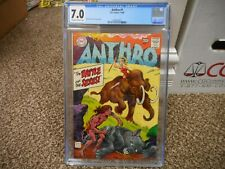 Anthro 1 cgc 7.0 DC 1969 ow/w pgs VF Battle of the Sexes Howie Post cover art