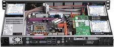 """1U 250W(Maximum 12 x 2.5"""" HDD)(Rackmount Chassis)(Micro-ATX/ITX) D12.6"""" Case NEW"""