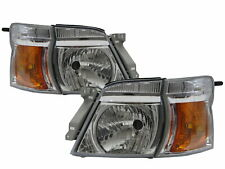 Caravan Urvan E25 MK4 05-12 Facelift 3D/4D Clear Headlight Chrome for NISSAN LHD