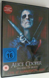 Alice Cooper - Theatre Of Death - Live At Hammersmith 2009 CD+DVD