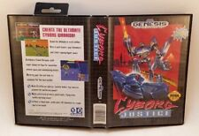 Cyborg Justice (Sega Genesis, 1993) Complete Tested Very Good