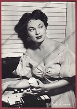 RUTH ROMAN 09 ATTRICE ACTRESS ACTRICE CINEMA MOVIE Cartolina FOTOGRAFICA