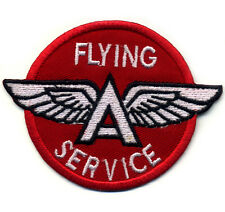 Flying a patch badge wings gasoline hot rod drag race Tydol sales service