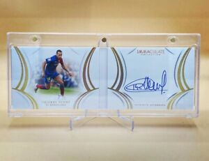 2018-19 IMMACULATE SOCCER THIERRY HENRY ON CARD AUTO BOOKLET /50 BARCELONA [MJ]