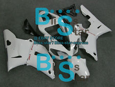 White INJECTION Fairing Bodywork Plastic Fit Yamaha YZF-R1 2000-2001 004 A4