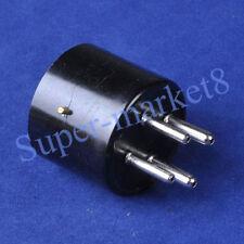 6pcs 4Pin Tube Base Bakelite Socket U4A 300B 2A3 Triode Valve DIY Repair Amp
