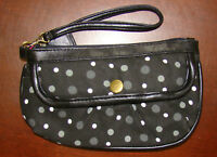 F11- Frenz eee Original Designer Clutch Handbag - Black
