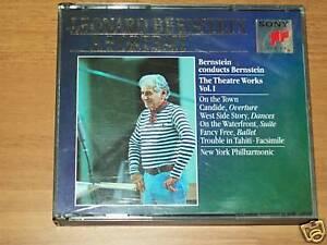 CD TRIPLO-LEONARD BERNSTEIN A PORTRAIT-THEATRE WORKS 1