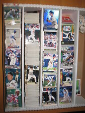 1998 PACIFIC  Online Base Red Web Baseball Large  Lot approximately 1159 Cards