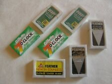 40 Double Edge Blade Sampler Pack Feather Derby Gillette DGFFF