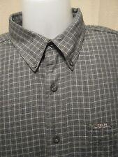 CHAPS RALPH LAUREN Vintage 90s Mens Button-Up Casual/Dress Shirt,Large,Plaid