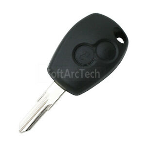 Remote Key Shell fit for RENAULT Clio DACIA Logan Sandero Key Case 2B PG350B