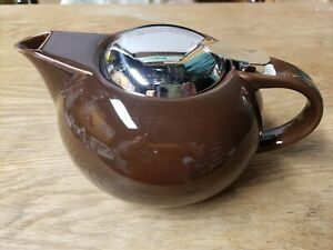 Teavana 24 Oz. Brown Teapot - New In Original Box