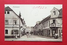 AK ELSTERWERDA um 1910 Strassenansicht mit Café und Restaurant   ( 37630