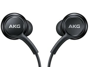 Original Samsung Wired earphones USB Type-C Connector Sound by AKG Black New!