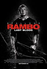 """Rambo Last Blood (11"""" x 17"""") Movie Collector's Poster Print Stallone Photo"""
