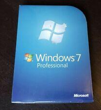 BRAND NEW Microsoft Windows 7 Professional Full Version Service Pack 1 fqc-00129