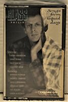 "PHILIP GLASS ""Songs From Liquid Days""  Cassette  CBS FMT39564"