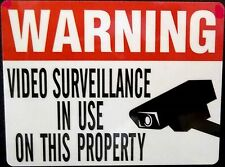 WHOLESALE WATERPROOF STORE SECURITY SURVEILLANCE CAMERAS WARNING STICKERS
